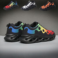 Men's Casual Sneakers Outdoor Athletic Running Joggging Tennis Shoes Sports Gym