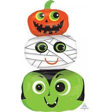Party Supplies Decorations Halloween Monster Heads Shape Foil Balloon 91cm