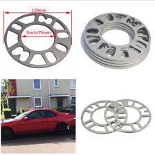 4pcs 5MM Wheel Spacers Shims for Car 4/5 Stud Wheel Fixings PCD Range 98-121mm