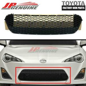 GENUINE SCION 13-16 FR-S OEM NEW FRONT RADIATOR BUMPER LOWER GRILLE SU003-01532