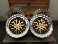 18 Zoll UA3 Felgen für Audi A4 A6 A7 A8 S4 S5 S6 Passat CC R36 Gold Scirocco R