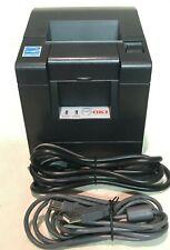 OKI PT341 Direct Thermal Printer Monochrome-Black Serial-USB-LAN-Oki Data-POS
