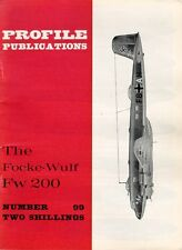 AIRCRAFT PROFILE 99 WW2 FOCKE-WULF Fw200 KONDOR BOMBER KG LUFTHANSA AIRLINER ATL