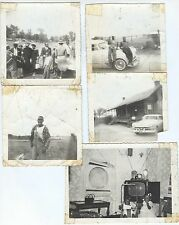 1950s black folks African Americans life in rural south - from Alabama? lot of 5