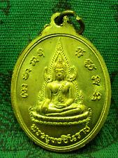 Pendant Buddha Phuttha Chinnarat King Naresuan Wat Prasri Real Magic Thai Amulet