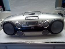 JVC RC-BM5 Boombox Portable Stereo CD & MP3 Cassette Tape Player AM/FM Radio