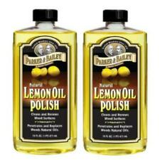 PARKER & BAILEY 2 PACK NATURAL LEMON OIL POLISH 16OZ