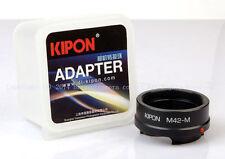 Kipon Adapter Carl Zeiss M42 Mount to Leica M L/M  M9 M-E 240 Ricoh GXR A12
