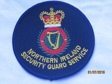 Northern Ireland Security Guard Service, sostanza distintivi, Patch, Badge