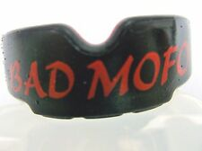JUNIOR / YOUTH GEL MOUTH GUARD / GUM SHIELD W/CASE - BAD MO FO rugby boxing mma