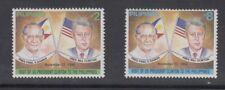 Philippine Stamps 1994 Visit of U.S Pres. Bill Clinton Complete set MNH