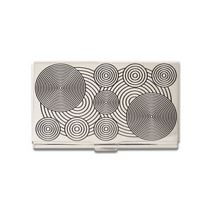 """ACME Studio """"Circles"""" Etched Business Card Case by VERNER PANTON"""