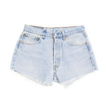 LEVI'S RED TAB Denim Shorts Size 31 Distressed Garment Dye Worn Look Made in USA