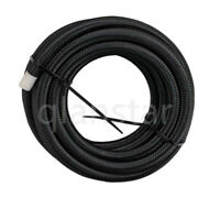 AN4/AN6/AN8/AN10/AN12 custom length Nylon/Stainless Steel Braided Fuel Hose