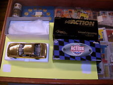 1997 ACTION PERFORMANCE HEADQUARTERS GRAND OPENING 1:24 GOLD CAR HARD TO LOCATE