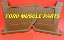 Ford Falcon XW XY Plastic Kick Panel XR XT Pair Saddle