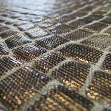 5+ yards PHENOMENAL Metallic Dimensional Linen Animal Skin Fabric LAST WE HAVE!