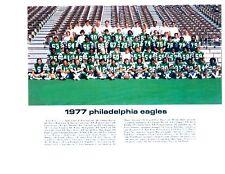 1977 PHILADELPHIA EAGLES TEAM 8X10  PHOTO  VINCE PAPALE INVINCIBLE WALBERG NFL