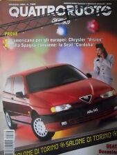 Quattroruote 463 1994 - Cabrio Punto Golf e Peugeot 306    [Q35]