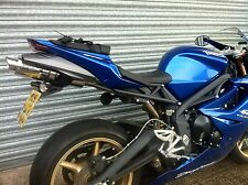 Triumph Daytona 675 2009 - 2012 Stainless Oval Road Legal Exhaust Can,Silencer