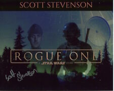 Scott Stevenson photo signed In Person - Rogue One: Star Wars - C691