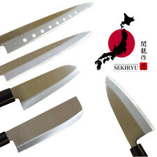 Set Di Coltelli Originali Giapponese Sushi Sashimi Carne Pesce in acciaio INOX