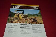 Fiat Allis FD7 Crawler Tractor Dozer Dealer's Brochure DCPA6 Ver2