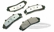 VGX MF652 Front Semi Metallic Brake Pads
