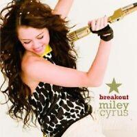 "MILEY CYRUS (HANNAH MONTANA) ""BREAKOUT"" CD NEW"