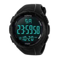 HONHX Luxury Men Analog Digital Army Sport LED Waterproof Wrist Watch Sweetly EL