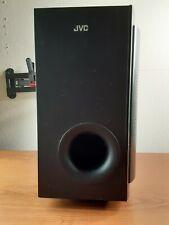 JVC Subwoofer Black SP-THG50W Wired Surround Sound Speaker 450 Watts Reflex Bass