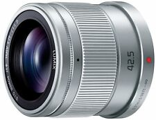 Panasonic LUMIX G 42.5mm/F1.7 ASPH./POWER H-HS043-S Silver Lens for MFT New