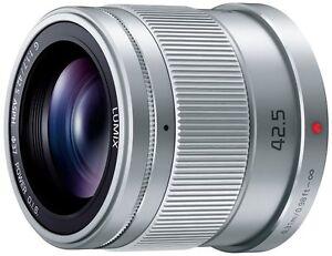Panasonic LUMIX G 42.5mm/F1.7 ASPH./POWER H-HS043-S Silver Lens for MFT New