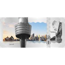 1$ 2017 Cook Islands - Skyline Dollar - Sydney