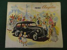 ford anglia orignal 1950s sales brochure