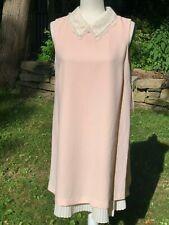 Nanette Lepore Ballet Slipper Shift Pleat Liner Dress NWT New with Tags 12 $149