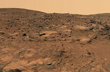 Framed Print - Planet Mars Landscape as Taken by Pathfinder (Martian Picture)