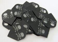 """Bulk Pack of 30 Poly Dart Flights """"Skull"""""""