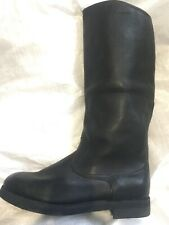 Authentic  soviet army Jalovie Leather boots original 1971-1973 Quality Stamp