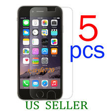 5pcs Clear LCD Screen Protector Guard Cover Film For Apple iPhone 6 Plus 5.5""