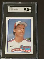 1989 Topps Randy Johnson RC SGC 9.5 Rookie Hot!!