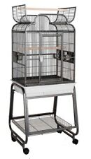 Hq Model 82217C-Parrot Bird Amazon Cockatiel Cage. Black.