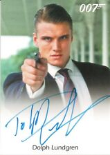 James Bond Archives Spectre Edition, Dolph Lundgren 'Venz' Autograph Card