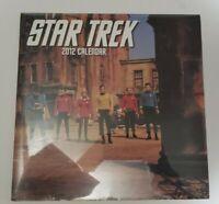 Star Trek: The Original Series 2012 Wall Calendar Sealed in Original Packaging
