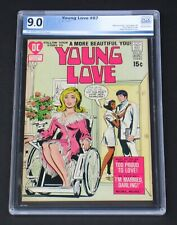 Young Love #87 PGX 9.0 DC Comics 1971 Wheelchair Love Rare