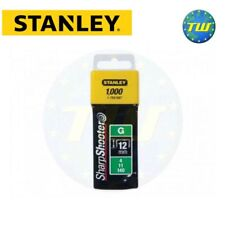 Stanley Staple 12mm 1000pc Type G Sharpshooter Fits Arrow & Rapesco 1-TRA708T