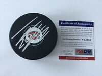 Thomas Vanek Signed Autographed Montreal Canadiens Hockey Puck PSA DNA COA a