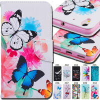 For Huawei Y6II/Honor Holly 3 Cover Flip Case Holder Card PU Leather Wallet Skin