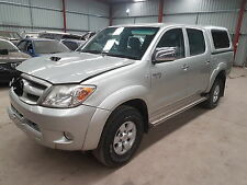 2007 Toyota Hilux SR5 turbo diesel 4x4 dual cab ute damaged repairable drives