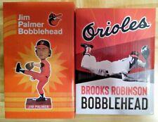 2 MLB HOFers Baltimore Orioles 2019 Brooks Robinson 2021 Jim Palmer Bobbleheads